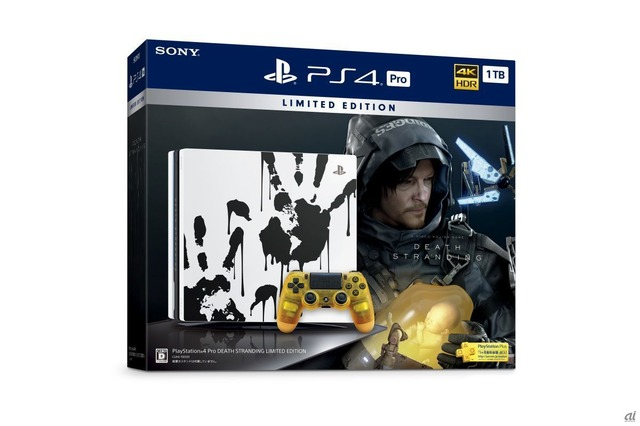 「PlayStation 4 Pro DEATH STRANDING LIMITED EDITION」パッケージ