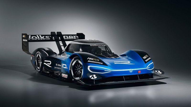 電動レーシングカーのID.R(出典:VW)