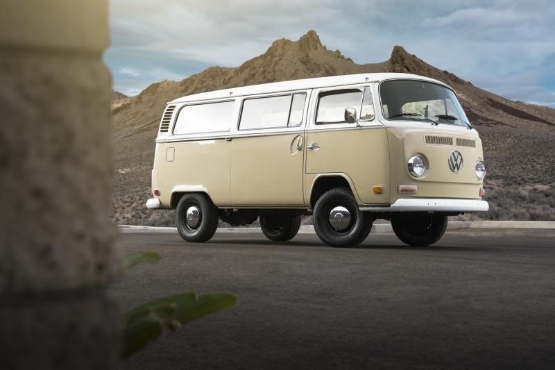 ワーゲンバスのEVコンセプトカー(出典:Volkswagen of America)