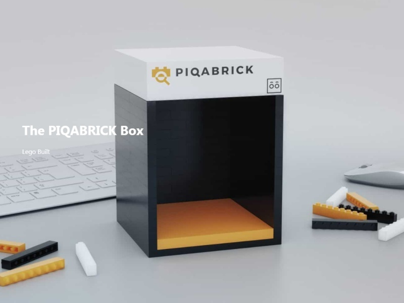 Scanner that automatically identifies LEGO block parts [Piqabrick official website]