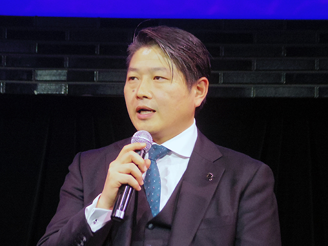 Mr. Tetsuhisa Fujii, general manager of Spotify Japan