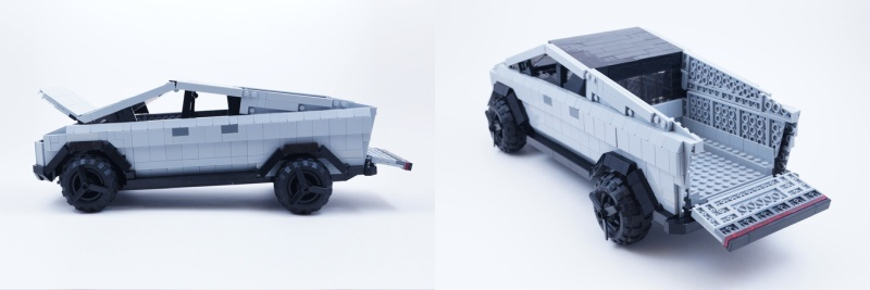This is the only gimmick at the moment [Source: LEGO]