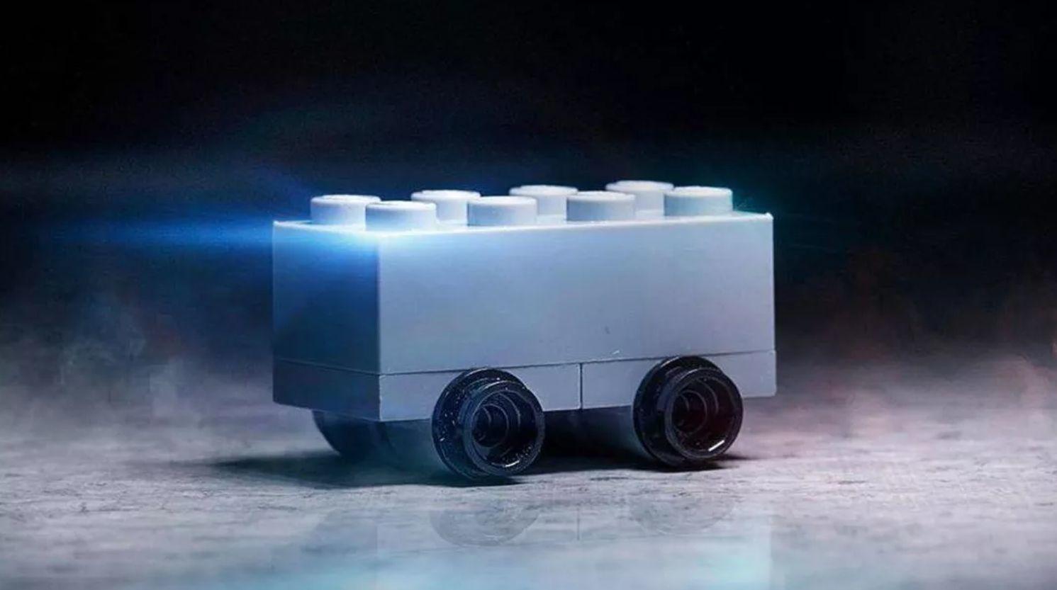 Cybertruck reproduced by LEGO Australia