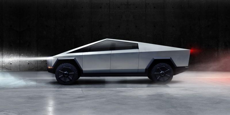 Uniquely designed Cybertruck [Source: Tesla]