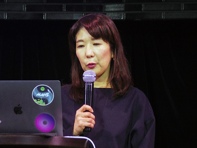 Spotify Japan Business Marketing Manager Keiko Ishii