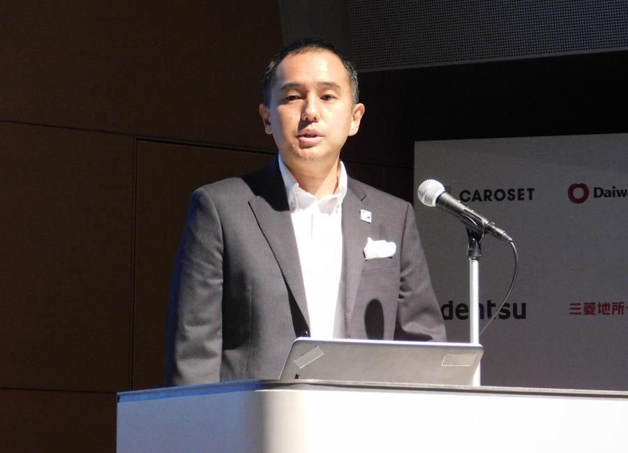 Mr. Takehiro Naito, President of Carrozzet