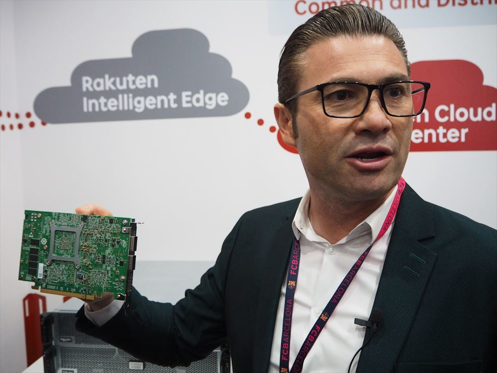 Rakuten exhibited at MWC Barcelona 2019 for the first time in February 2019. Rakuten Mobile CTO Tarek Amin was appealing for a network that fully adopted NFV