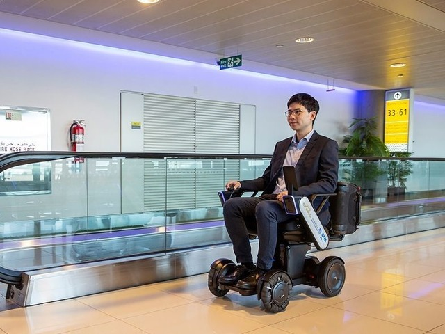 Photo of Next-generation wheelchair WHILL demonstrates self-driving personal mobility at five airports in Japan and overseas