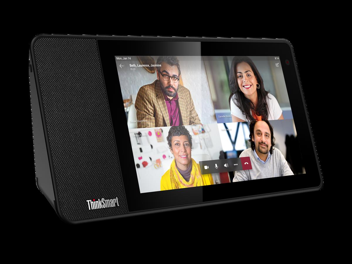 レノボ、オフィス向けデバイス「ThinkSmart View」発表--「Microsoft Teams」とも連携 - CNET Japan