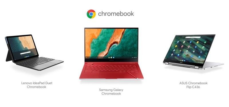New model of Chromebook [Source: Google]