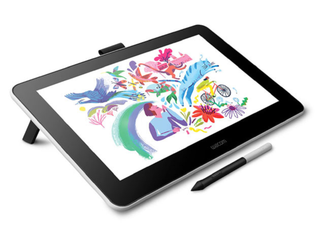 "Photo of Wacom, 13 inch LCD pen tab "" Wacom One '' of 42,900 yen including tax-also compatible with Android terminals"