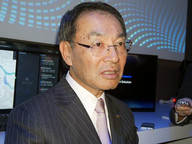 Mr. Kazuhiro Tsuga, President and Representative Director of Panasonic