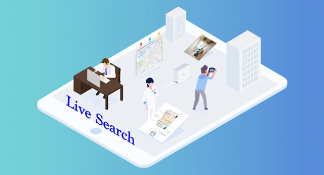 """""""Live Search"""", a shooting agency service"""