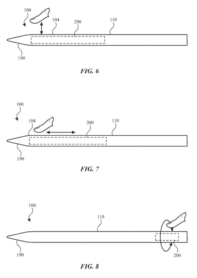 Touch operation is possible while holding it naturally [Source: USPTO]