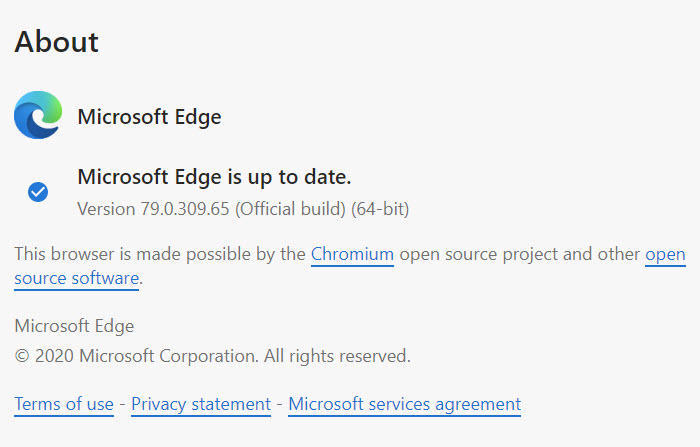 The new Edge has been officially released with a new logo.