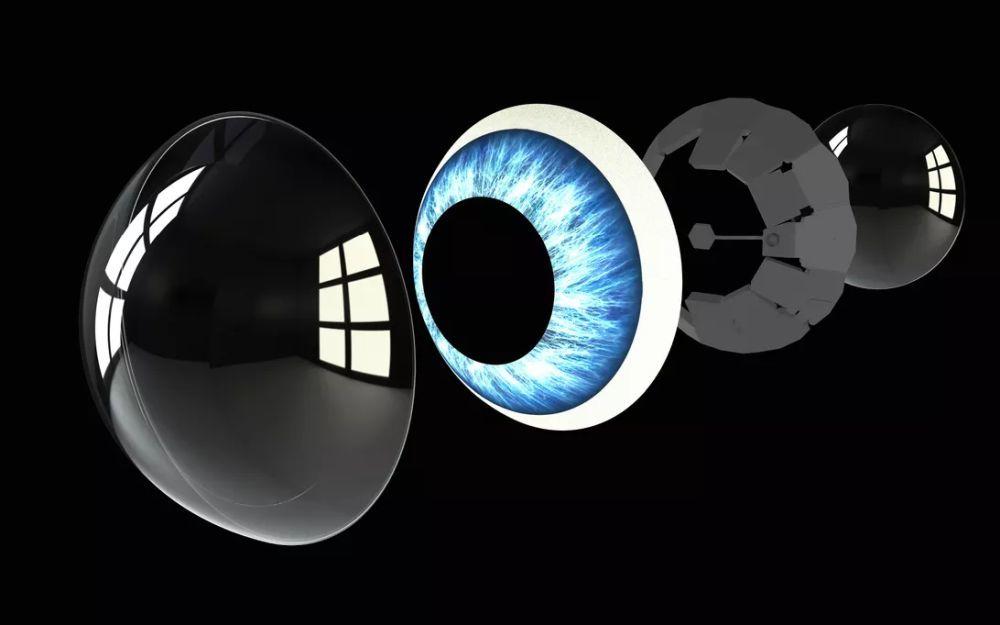 Mojo Visionのスマートコンタクトレンズが今後どうなるかを示した図