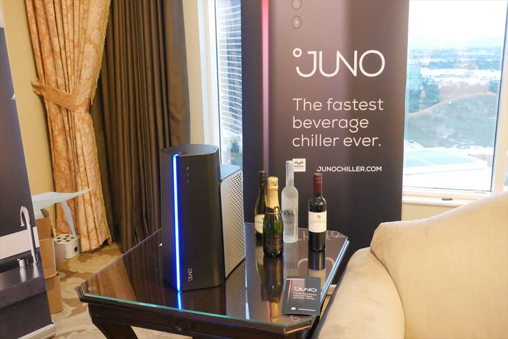 `` JUNO '' exhibited by Matrix Industries at CES 2020