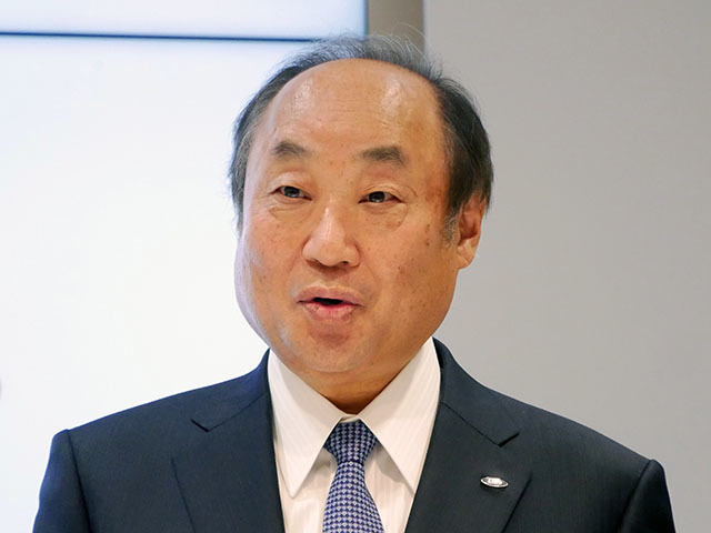 Katsuaki Nomura, Representative Director and Executive Vice President of Sharp