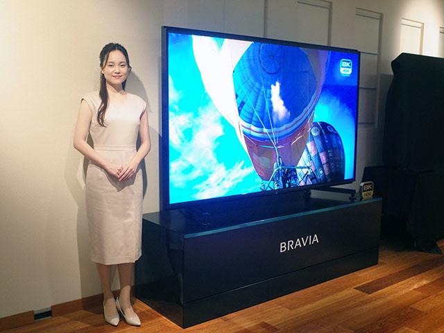 "Photo of Sony announces 8K BRAVIA ""Z9H""-85-inch ""bright image quality"""