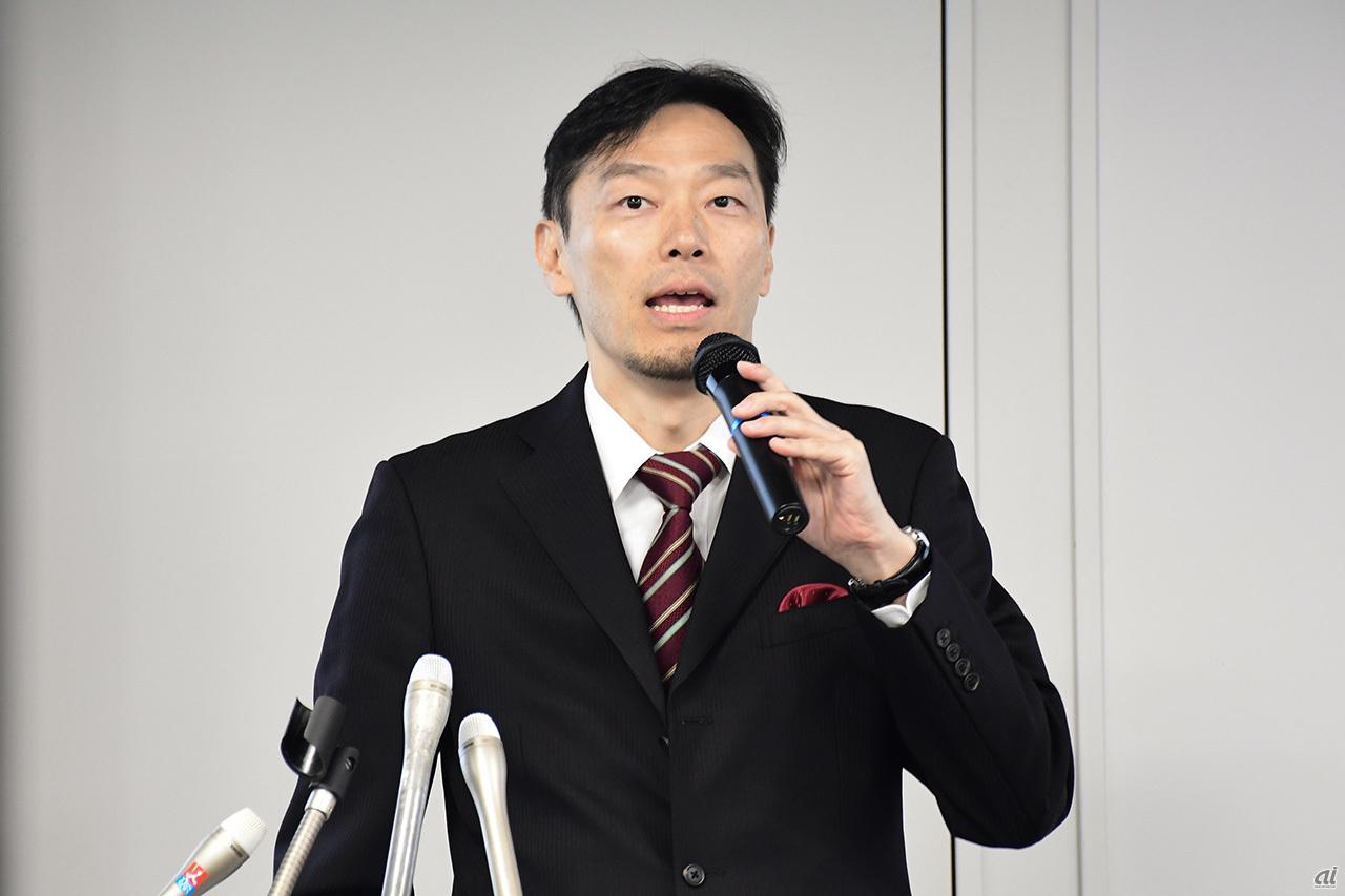 Mr. Takeshi Fukuda, Director of IBM Japan, Director of the Tokyo Research Laboratory, and Representative Director of the Consortium