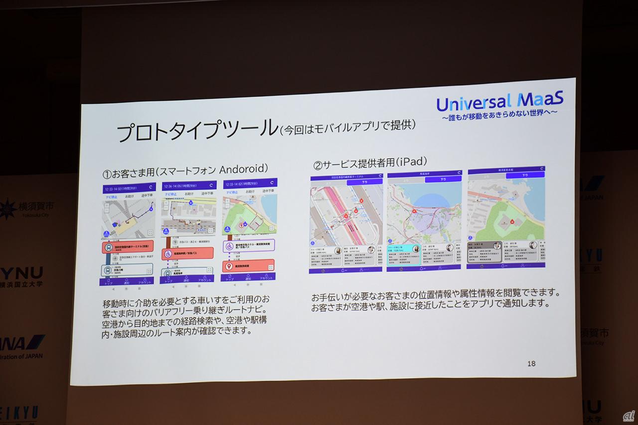 Universal MaaS prototype tool