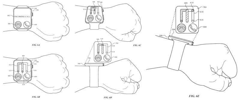 Move the pointer by changing the tilt of the arm [Source: USPTO]