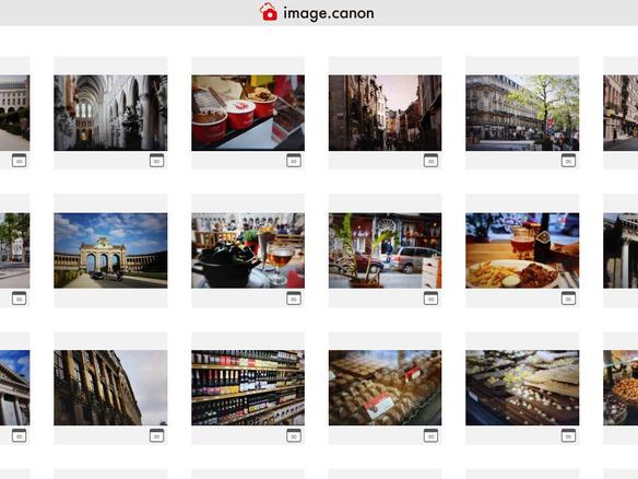 カメラから「Googleフォト」への自動転送も--キヤノンが新クラウド ...