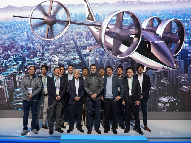 Photo of JAL and Sumitomo Corporation partner with Bell to develop eVTOL to realize aerial taxi service