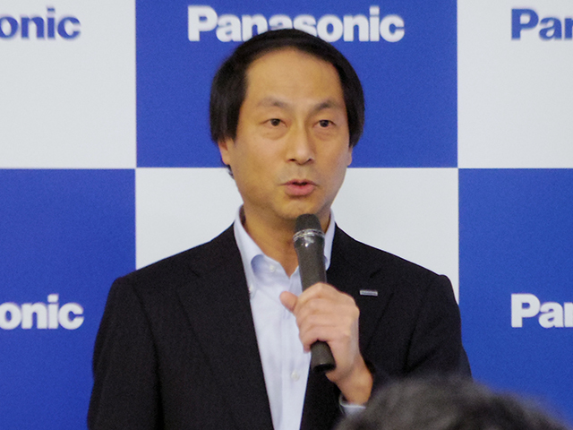 Mr. Naofumi Taniguchi of Panasonic Life Solutions Company Energy Systems Division System Equipment Business Unit Business Unit