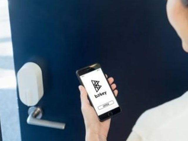 """The smart lock """"bitlock series"""" provided by the bit key is used for common areas such as the entrance and the entrance"""