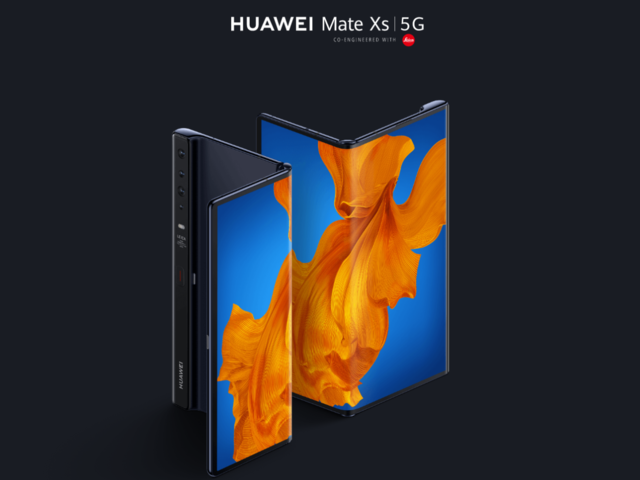 Photo of Huawei announces new Mate Xs folding smartphone-launches outside China