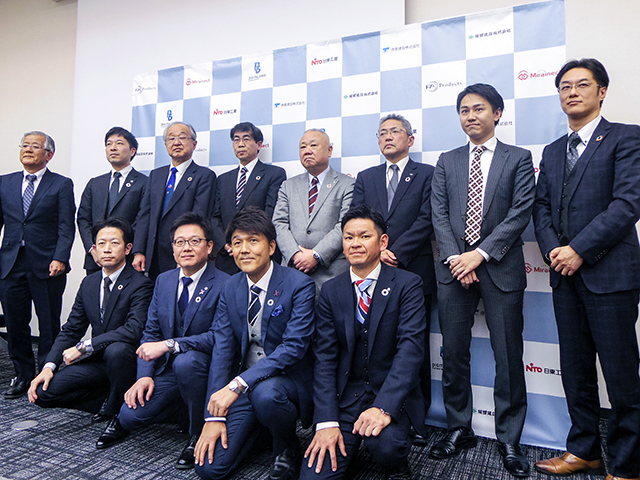With FA Products as the managing company, Mirainect [service provider], Digital Grid [DGP operation and system development], Nitto Kogyo [DGC panel and power supply equipment], Tokukura Construction and Sakata Construction [construction work] will participate.