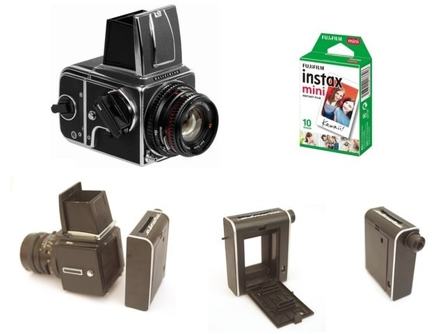 "Photo of "" Fujifilm Instax Mini '' film back for Hasselblad"