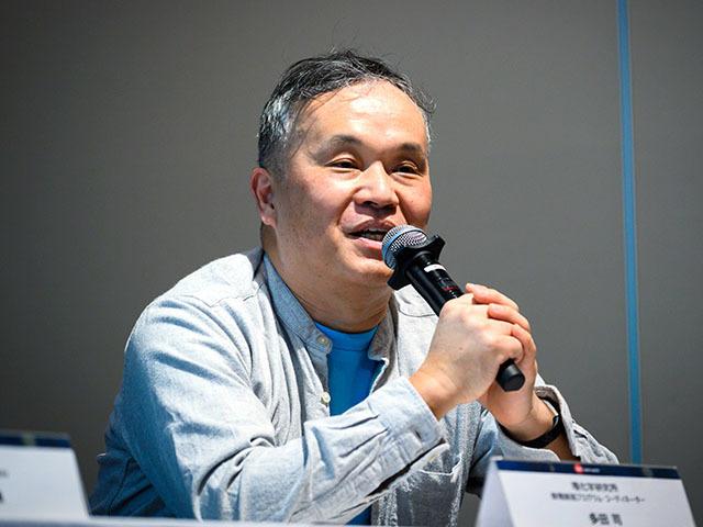 Tsukasa Tada of RIKEN Mathematical Science Creation Program [iTHEMS]