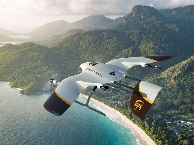 Photo of UPS, etc. develop vertical takeoff and landing fixed wing drone for home delivery-transport up to 6 kg for 45 km