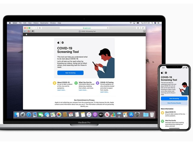 Photo of Apple launches new Corona countermeasures app and website-working with CDC and White House