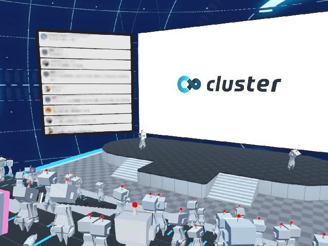 """Photo of Enterprises can now hold VR space events on the same day-clusters are """" cluster starter package ''"""