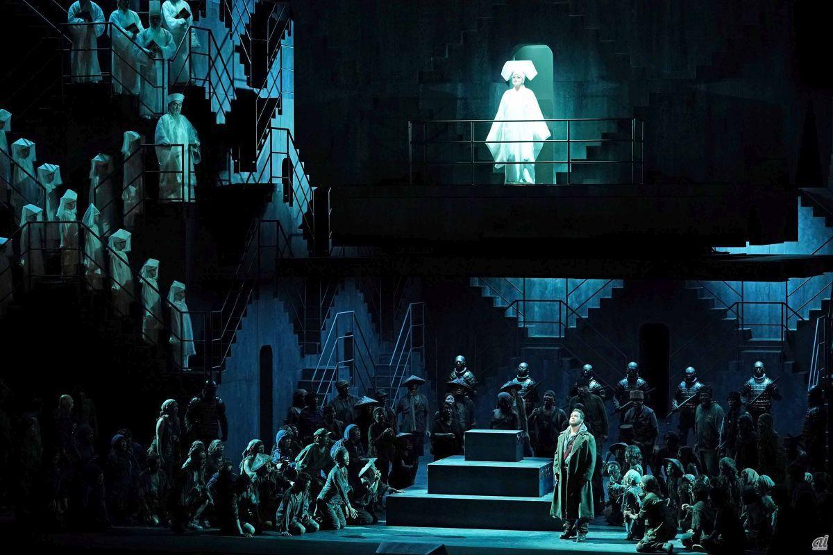 """Opera """"Turandot"""" [Photo: Masahiko Terashi]"""