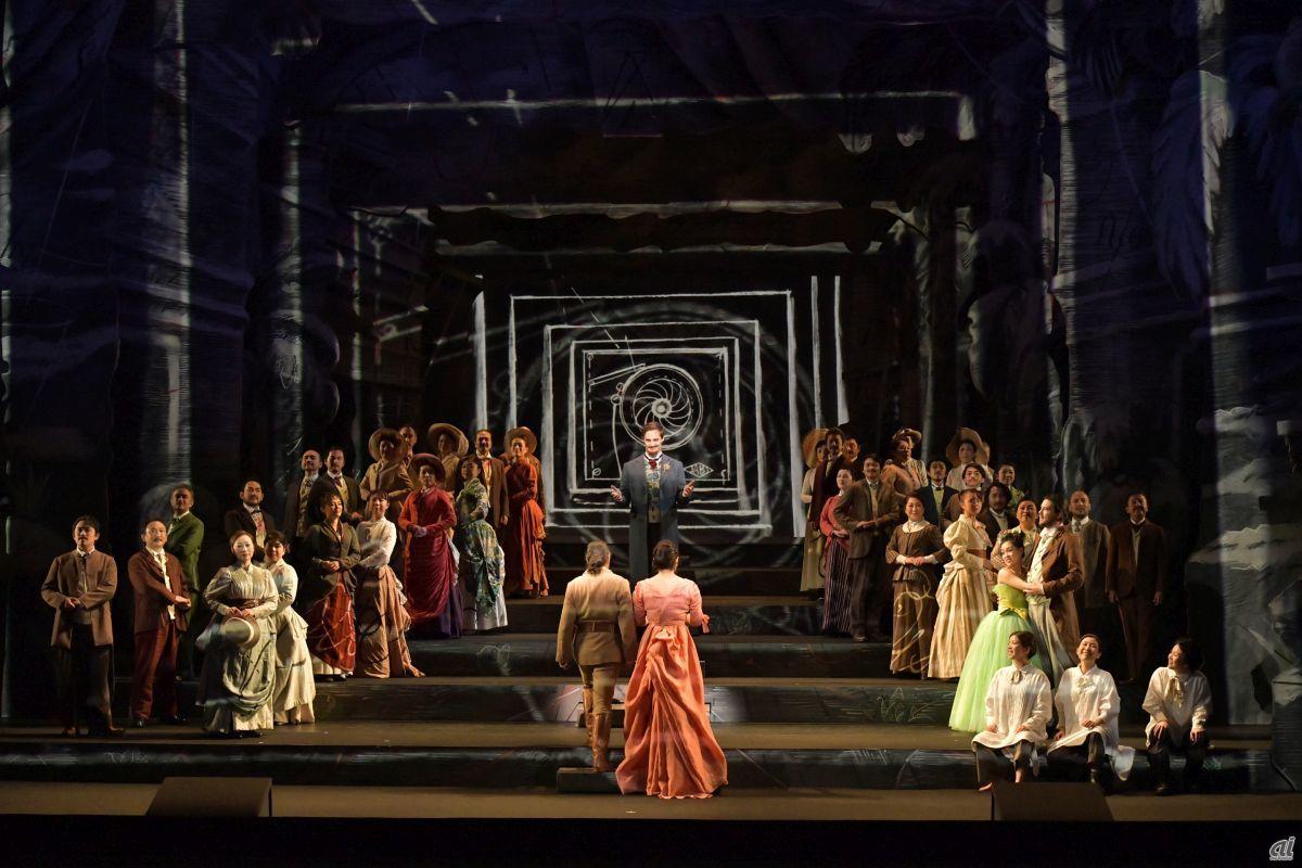 """Opera """"Mahou"""" [Photo: Masahiko Terashi]"""
