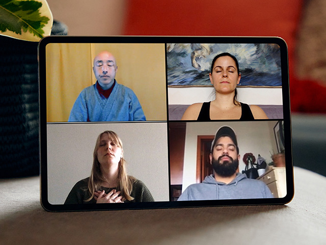 """Photo of Meditation online-Airbnb's new """"home"""" experience program"""