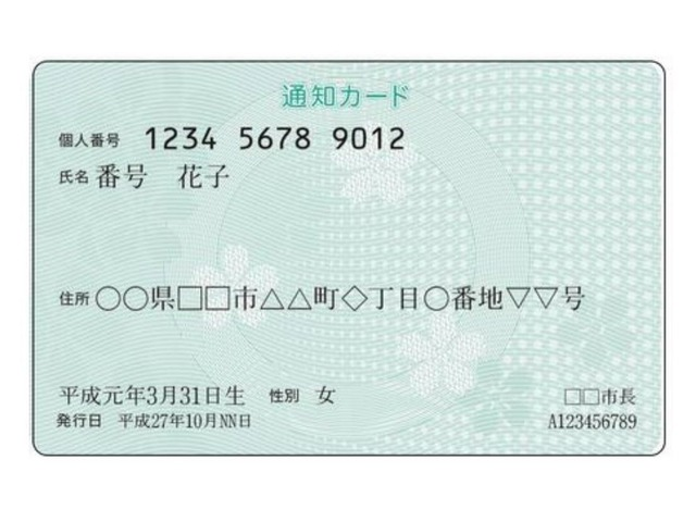 """Photo of My number """"Notification Card"""" will be abolished at the end of May–You can apply for My Number Card online"""
