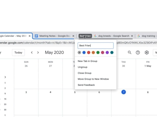 Photo of Google Supports Tab Grouping in Chrome 83
