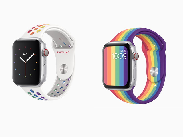 Photo of Nike models also available in 2020–supporting LGBTQ through Apple Watch Pride Edition