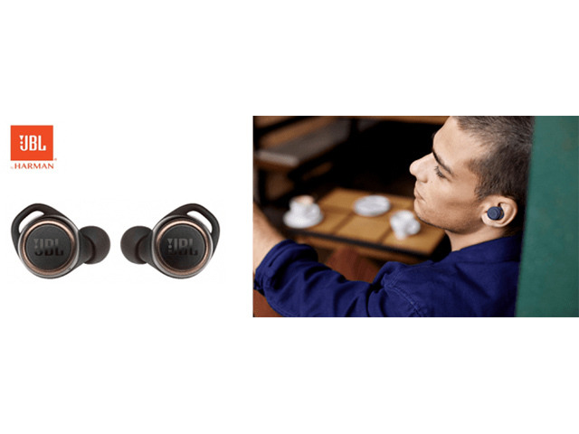 """Photo of JBL, a completely wireless earphone """"JBL LIVE300TWS"""" that can be tuned best from the application"""