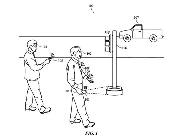 Photo of A device that provides tactile and audio feedback to Apple, the visually impaired, etc .– patent acquisition