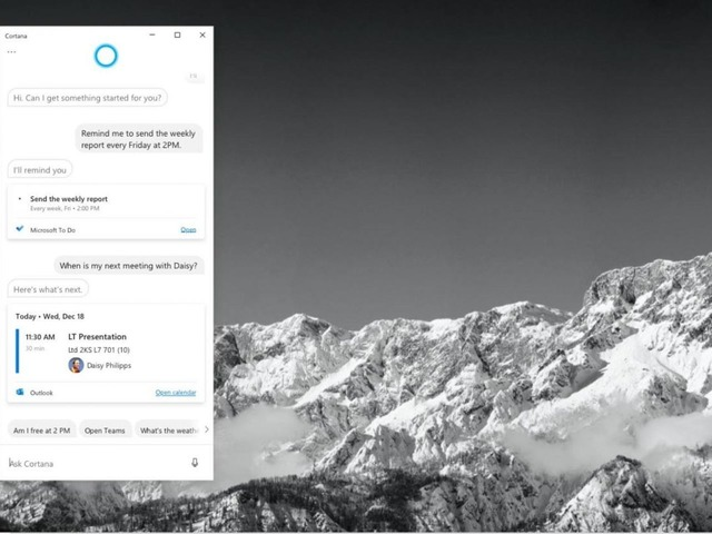 Photo of Microsoft Releases Standalone Cortana App–Enhanced Productivity Support