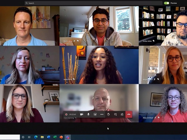 "Photo of ""Microsoft Teams'' video conference plans to expand simultaneous display from 9 people to 49 people-similar to Zoom"