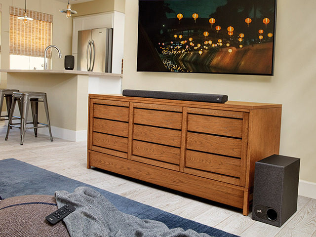 Photo of Polk Audio Inc., Sound Bar with Easy-to-Hear Voice–D&M Starts Domestic Sales