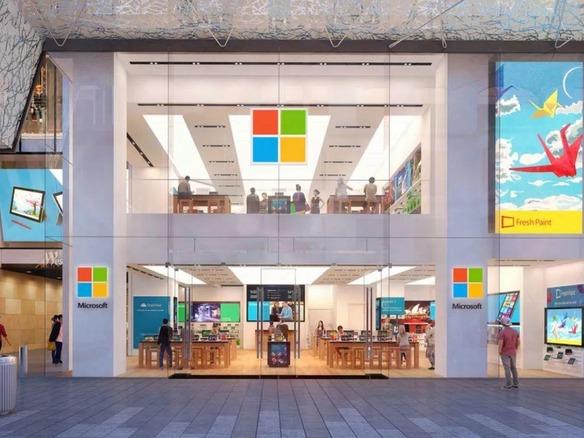 マイクロソフト、直営の実店舗を閉鎖へ - CNET Japan