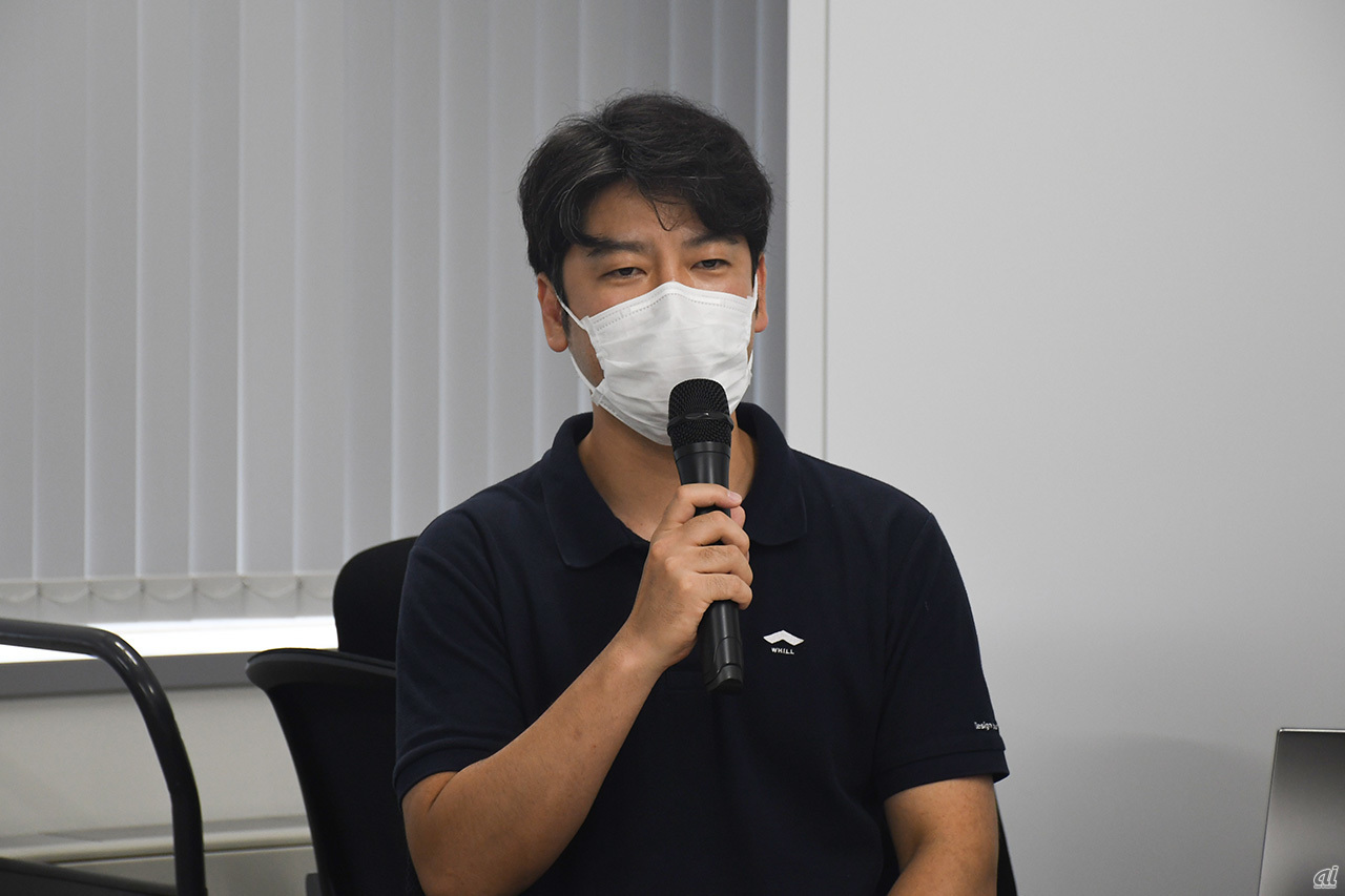 Mr. Osamu Sugie, WHILL Representative Director and CEO